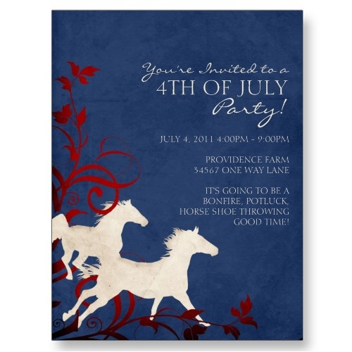 fourth of july horse pictures