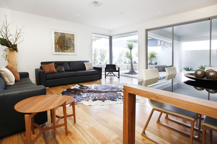 Bring the outdoors in with full height windows to maximise views and natural light...