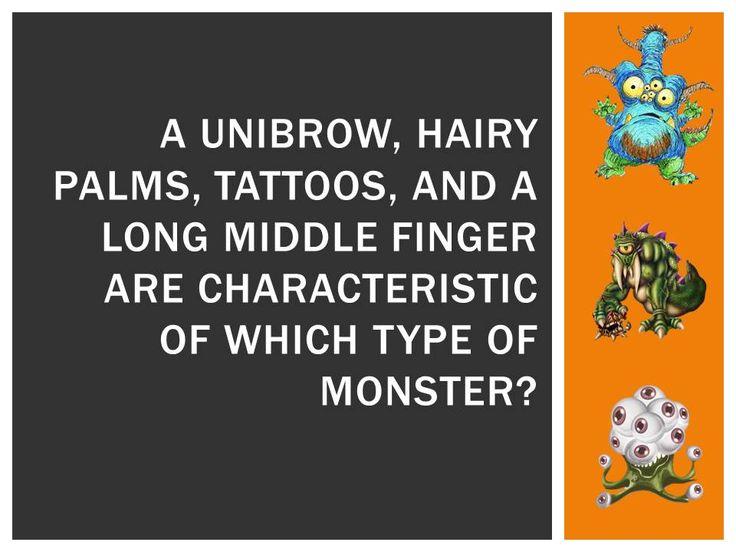 halloween trivia a werewolf - Halloween Monster Trivia