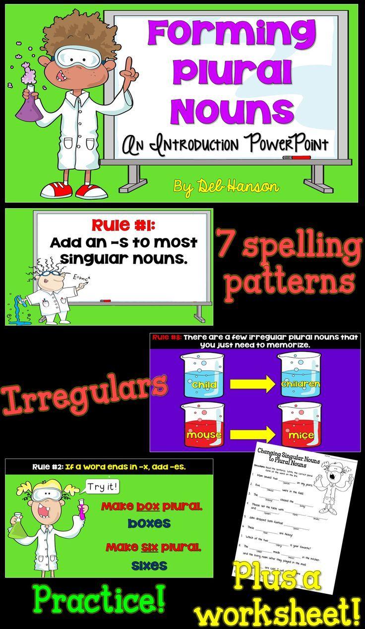 Oltre 25 fantastiche idee su Irregular plural nouns worksheet su – Irregular Plurals Worksheets