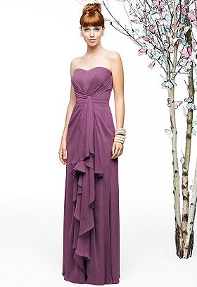 Gorgeous #radiantorchid bridesmaid gown