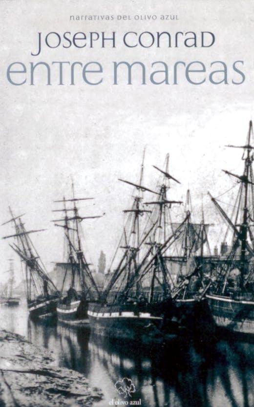 """""""Entre mareas"""" es el apropiado título bajo el que se recogen cuatro relatos de Joseph Conrad que tienen como nexo de unión el narrar sucesos acontecidos en tierra firme, pero protagonizados por hombres de mar, mientras aguardaban la marea propicia que les permitiría volver a zarpar."""