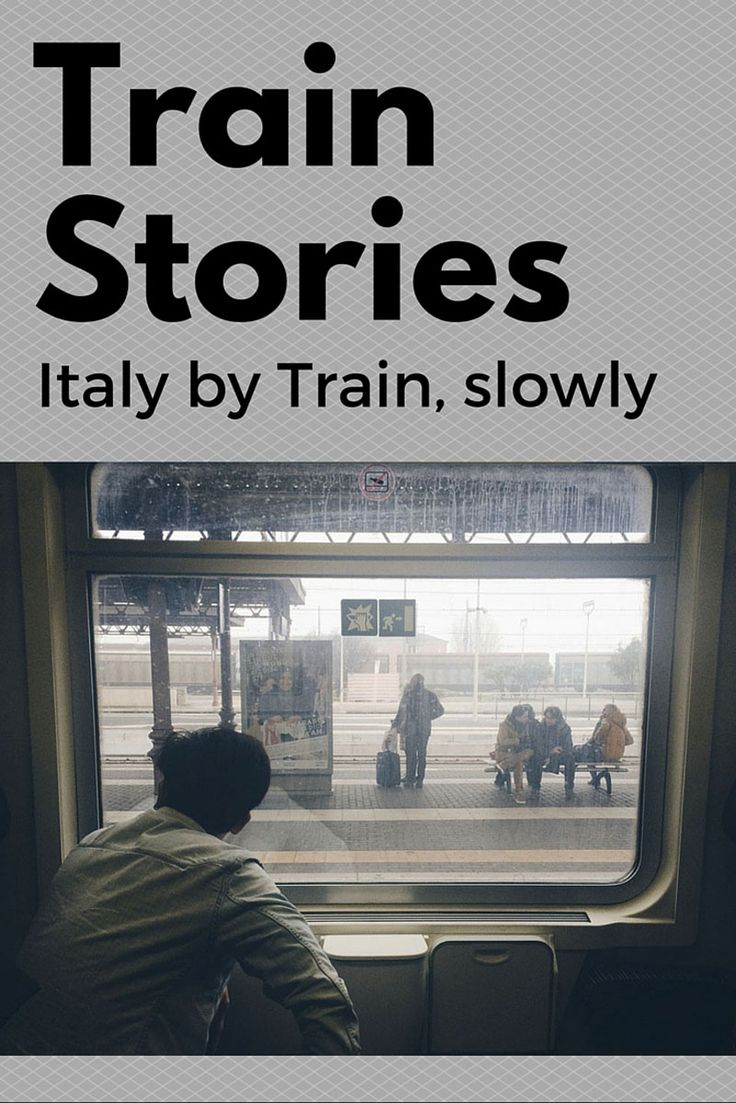 Train Stories: a slow journey around Italy on regional trains. First stop is the Via Emilia, from Milan to Bologna.