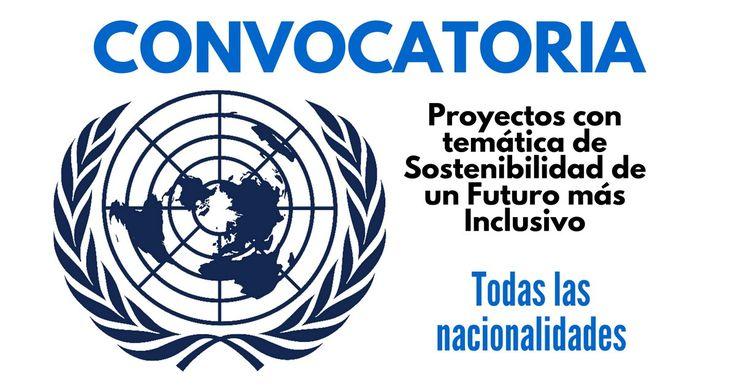 Convocatoria de la ONU para temática de Sostenibilidad