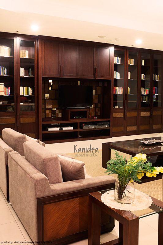 warm living area  #interior #rattan #customarmchair #wood #ambience #pattern