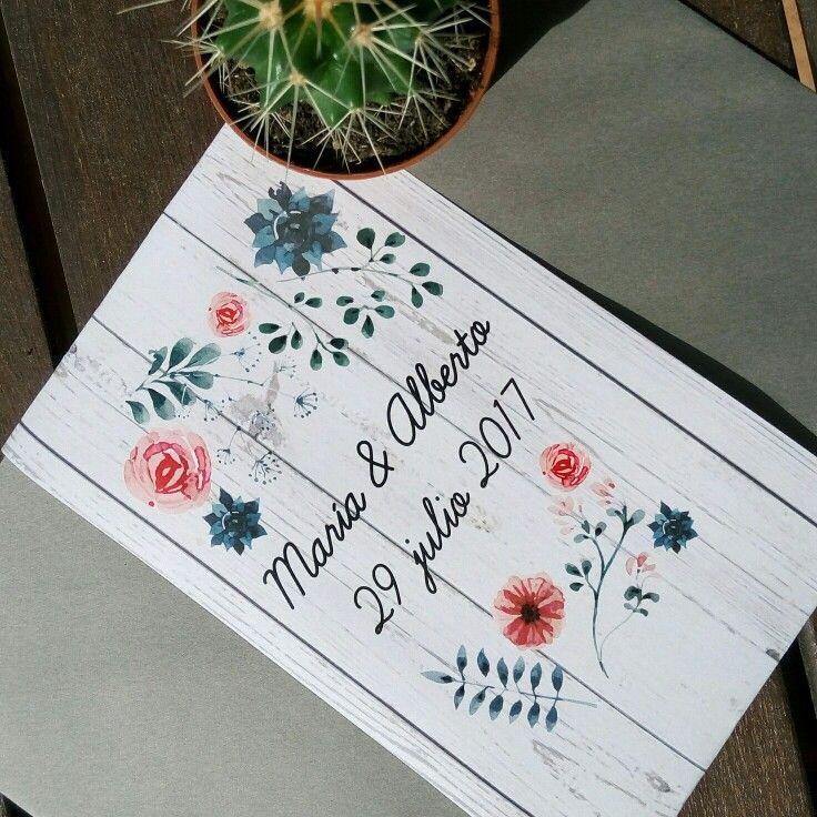 Sobres de boda personalizados