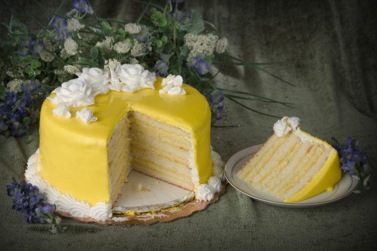 Lemon Doberge Cake Louisiana
