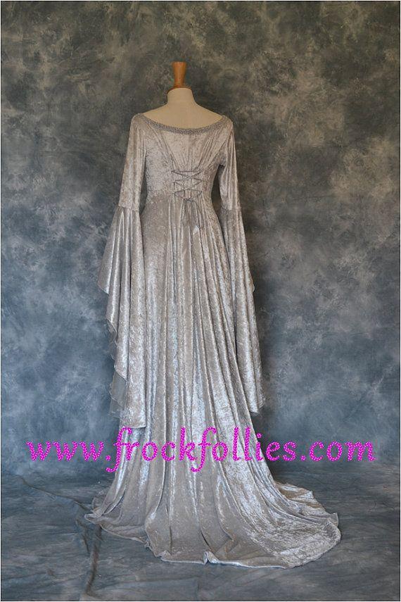 Vestido medieval vestido élfico vestido celta por por frockfollies