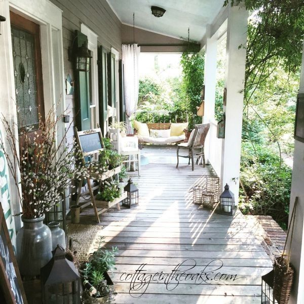 25+ Best Ideas About Cottage Front Porches On Pinterest