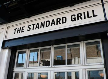 New York, U.S. - The Standard Grill -- Delicious food from the grill.  Don't miss out of the dessert 'the closed deal', chocolate mousse served with dough scrapers! -- http://thestandardgrill.com/