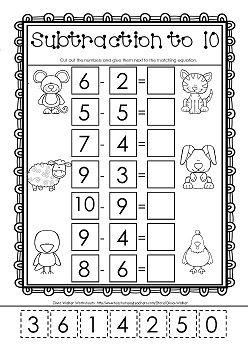 Best 25+ Subtraction kindergarten ideas on Pinterest ...