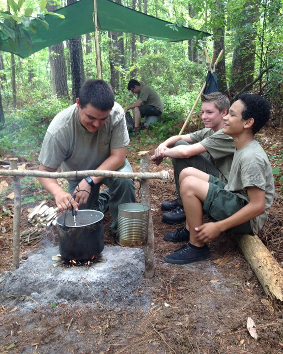 firewatch how to leave scout camp