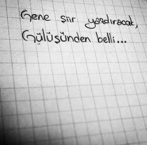 Gene şiir yazdıracak, Gülüşünden belli.  www.love.gen.tr #aşk #sevgi