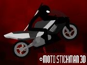 Stickman Moto 3D    Participate in an endurance 3D race as Stickman biker on one of the most dangerous motorcycle tracks through the desert. Sport stickman motorcycle racing game consists of single track with 5 checkpoints. Make sure you get to the checkpoint before time runs out or the race is over. Even if armed heavily, Stickman won't use any of his weapons against his pals. This is a sport game and the better rider wins. Just make sure to get to the check point bef