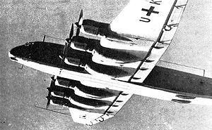 20 October 1943 First flight #flighttest of the Junkers Ju-390