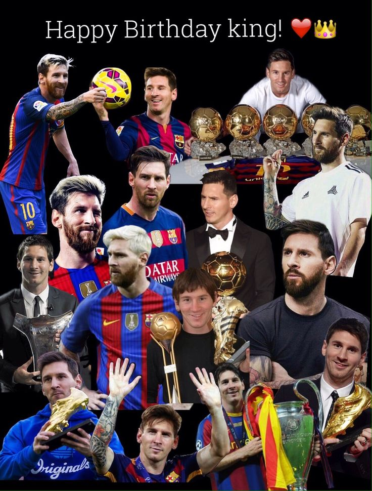 Happy Birthday King! Happy Birthday Lionel Messi! Happy Birthday to the greatest in the history of football! I love you so so much! ❤️❤️❤️ This is a college made my me and I hope you guys will enjoy it. #Messi30