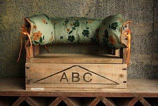 Recycled beer crates