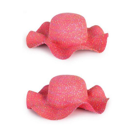 Zomerhoedjes roze voor dames  Roze dames strand of hippie flaphoed. Strohoed voor dames in de kleur roze. De roze hoed is one size ongeveer maat 57.  EUR 5.95  Meer informatie