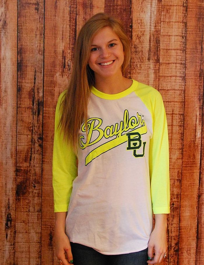 #Baylor Classic raglan t-shirt: Raglan Tee, Baylor Style, Soft Style, Absolutely Style
