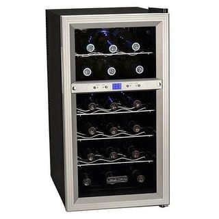 Shop for Koldfront TWR181E 14 Inch Wide 18 Bottle Wine Cooler with Dual Thermoelectric Cooling Zones. Get free delivery at Overstock.com - Your Online Kitchen & Dining Shop! Get 5% in rewards with Club O! - 20922234