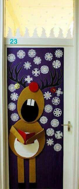 Puertas navideñas                                                                                                                                                     Más
