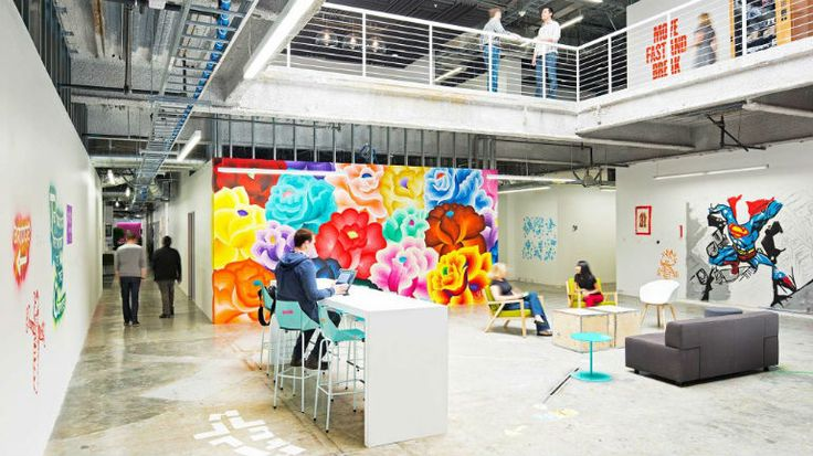 Gensler: Meet The Incredible Modern Chairs at Facebook Headquarters