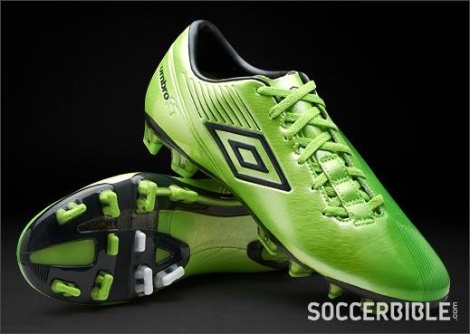 Umbro GT II Pro Football Boots - Green/Carbon/White - http://www.soccerbible.com/news/football-boots/archive/2012/09/27/umbro-gt-ii-pro-football-boots-green-carbon-white.aspx