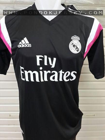 Jual Jersey Training Madrid Hitam 2014-2015 , Untuk Jersey Training Madrid Warna Hitam ini desain sama dengan Jersey Madrid dengan warna putih