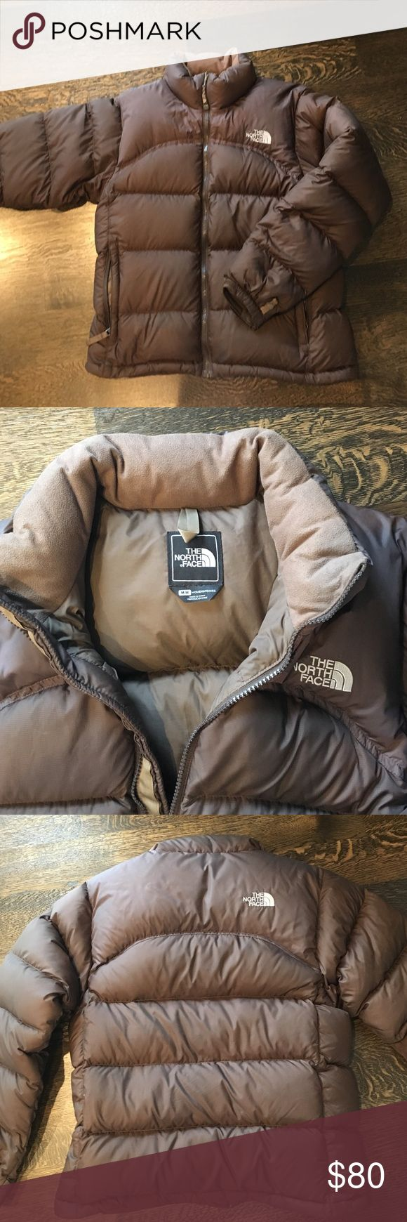 North face brown puffer jacket Very warm puffer jacket in brown by North Face North Face Jackets & Coats Puffers