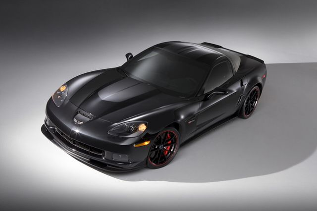 Technical Specs and Features in the 2012 Corvette Z06: Corvette Z06 Options