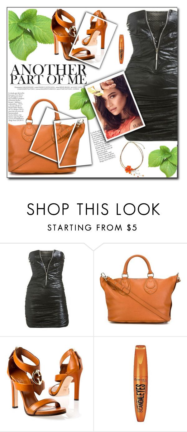 """""""another part of me"""" by sasane ❤ liked on Polyvore featuring Arden B., See by Chloé, Gucci, Rimmel and NOVICA"""