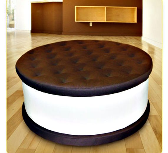 this is an ottoman!! If I had the money I would build an entire family room around this.  LOVE IT!