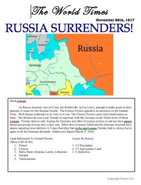 Best World War One Simulation Activities Images On Pinterest - World war 1 map activity us history