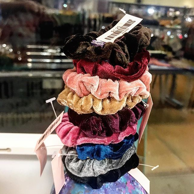 Every girl needs a scrunchie! Come by Stella and get yours today!  #stellalouise #stellagirl