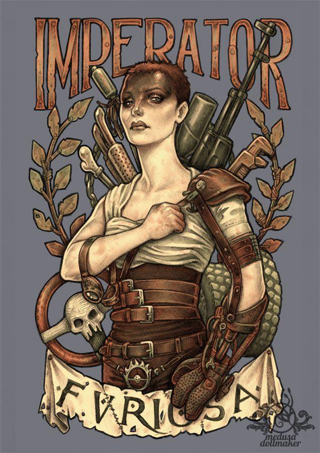 AVE FURIOSA by Medusa-Dollmaker.deviantart.com on @DeviantArt