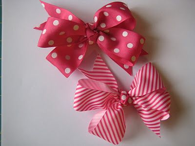 How to make Boutique-Style Hair Bows@Tiffany Poche