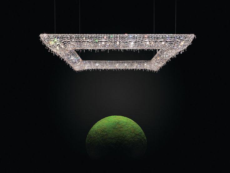 KOI Crystal pendant lamp by Manooi #crystalchandelier #lightingdesign #interior #chandelier #coollamps #luxury #Manooi