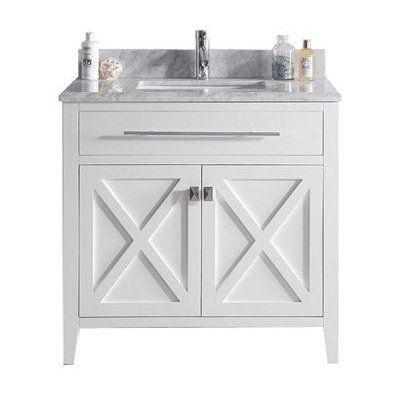 best deal deluxe vanity wimbledon 36 white bathroom vanity cabinet white carrera