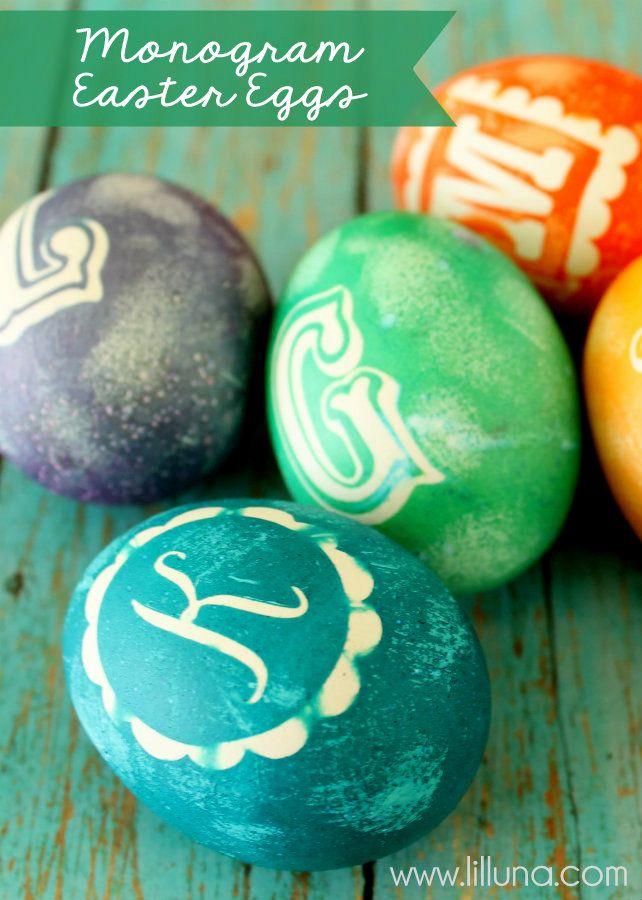 Monogram #Easter #EGGs