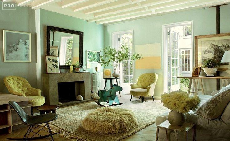 мебель мятного цвета