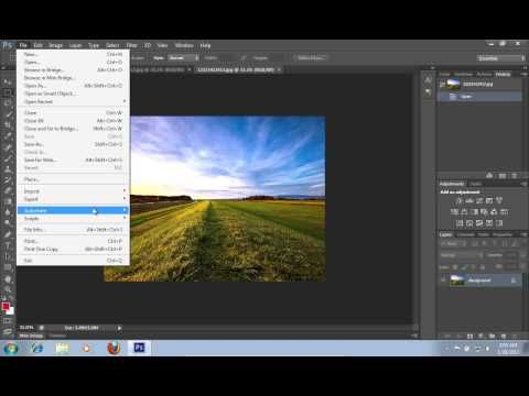 How to Merge Image to HDR in Photoshop CS6 - YouTube