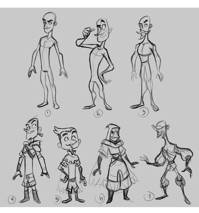 Character Design Kickstarter : New books character design mastersclass and anatomy in