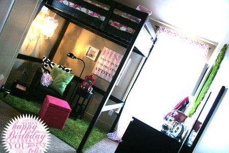 super cute tween girls room