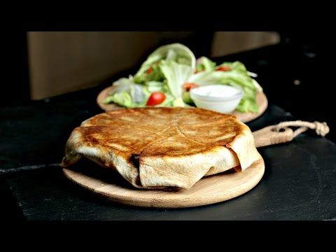 Monster Chicken Fajita Crunchwrap - YouTube