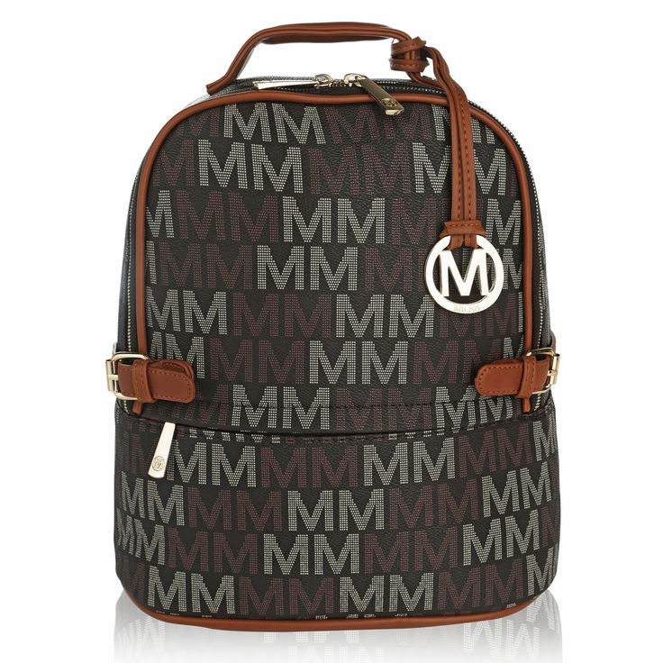 MKF Collection by Mia K Farrow Cleo M Signature Trendy Backpack