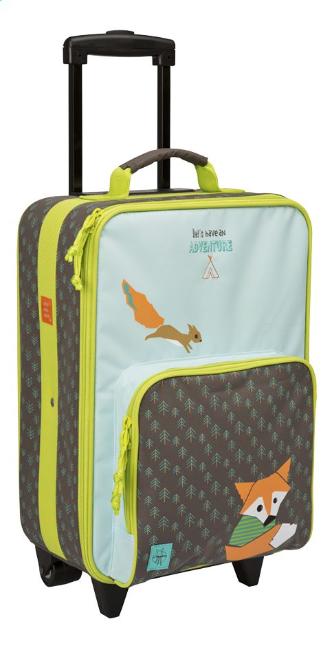 Lässig Trolley Little Tree Fox bruin/groen 46 cm | Dreambaby