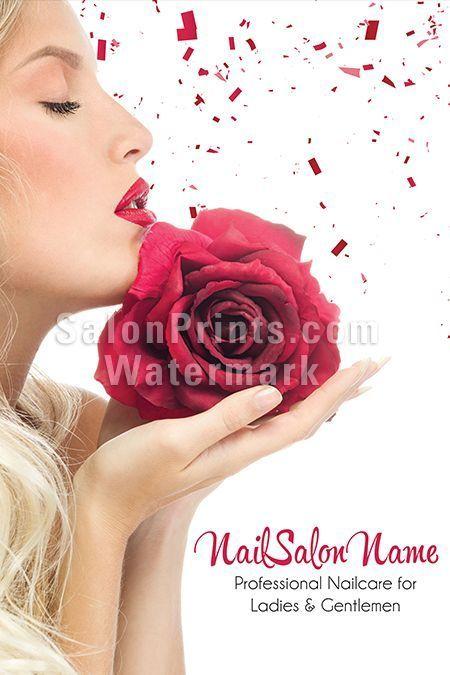 Nail Salon Poster - Custom Nail Salon Name  Manicure and Pedicure || P-160
