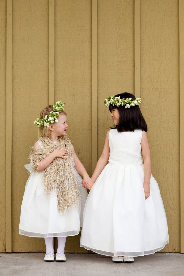 Would it be super cute to have two flower girls, one from each side of the family?