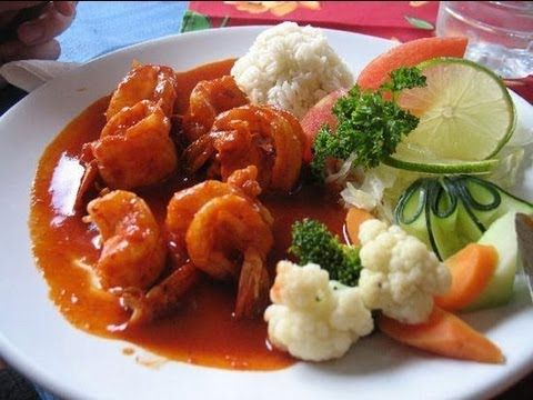 Receta de camarones enchipotlados (Chipotle shrimp)