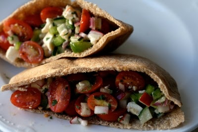 Greek Pita: Greek Pitasstuff, Food For Thoughts, Veggies Pita, Recipes, Eating, Greek Veggies, Foodies Yum, Greek Pita Stuff, Greek Pitas Stuff